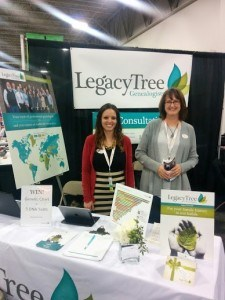 Legacy Tree Genealogists project managers Elly and Allison.