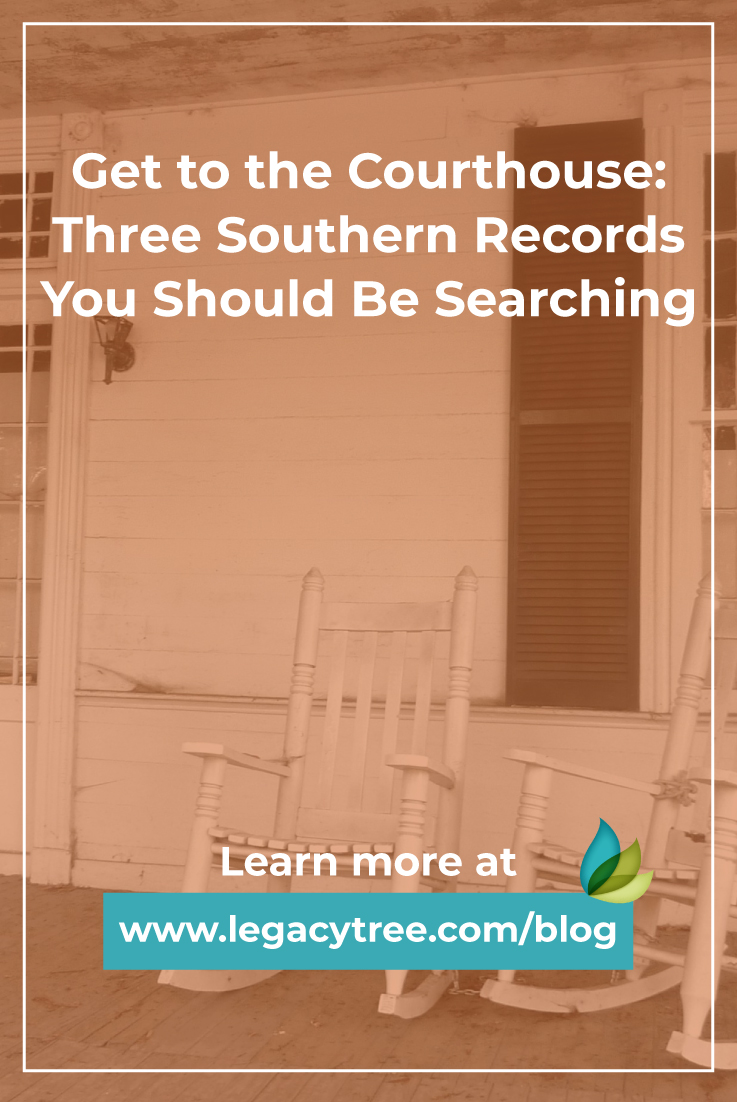 If you've hit a brick wall in extending your Southern family history, try searching these three types of Southern genealogy records.