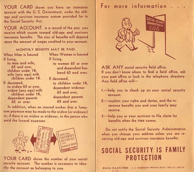Social Security And Your Immigrant Ancestors