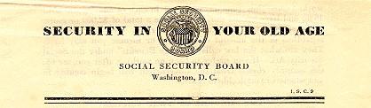 social security genealogy