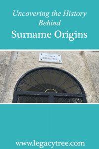 surname origins