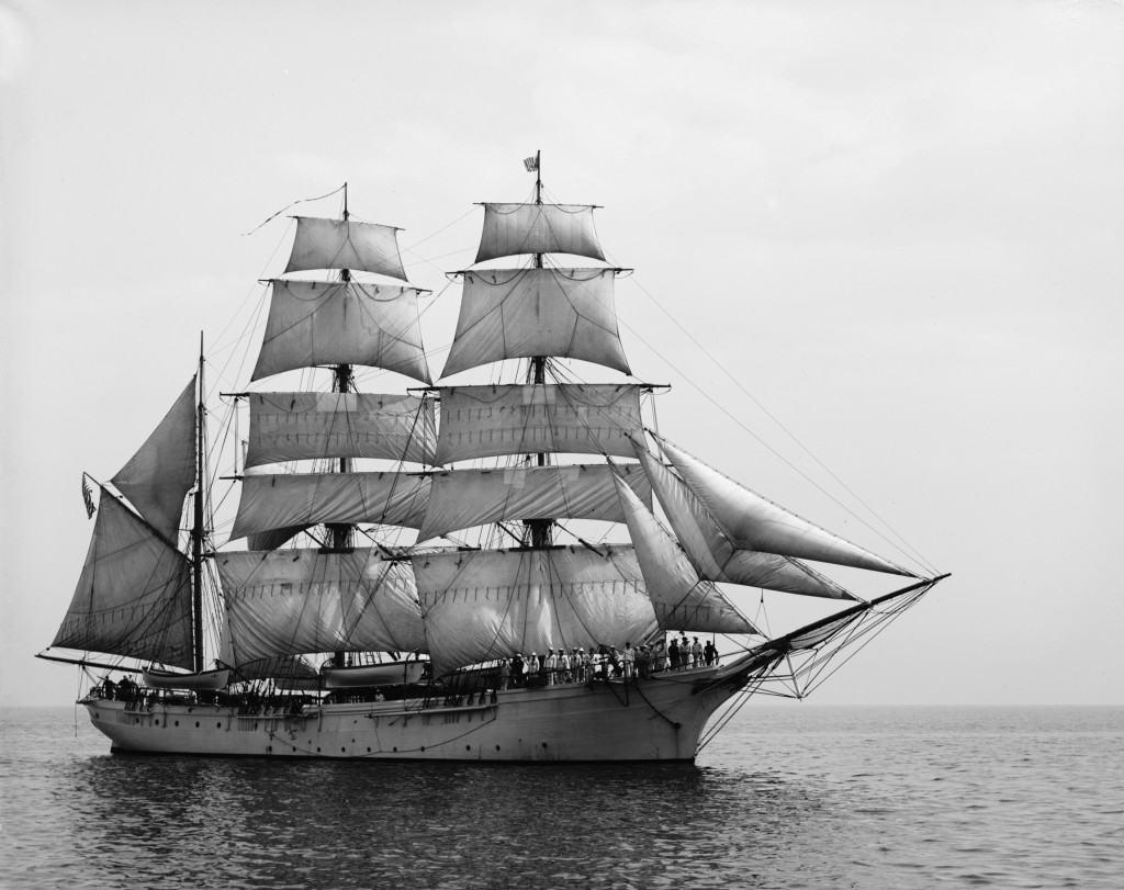 three mast