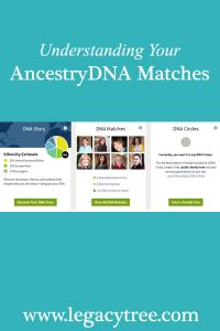 AncestryDNA matches