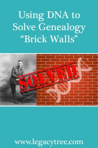 using DNA to solve genealogy brick walls