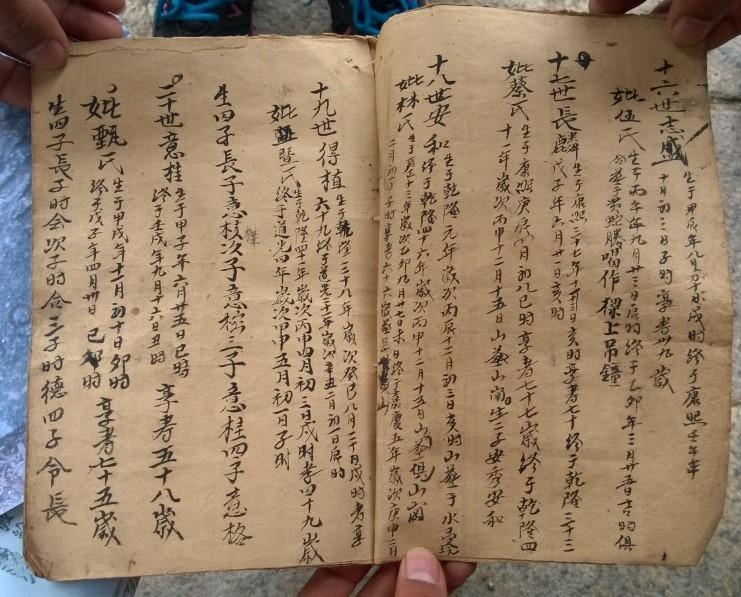 Chinese genealogy